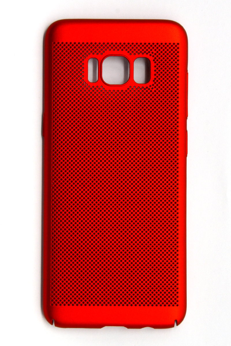 Tpu/pc breath for sm-j600f (galaxy j6 2018) red