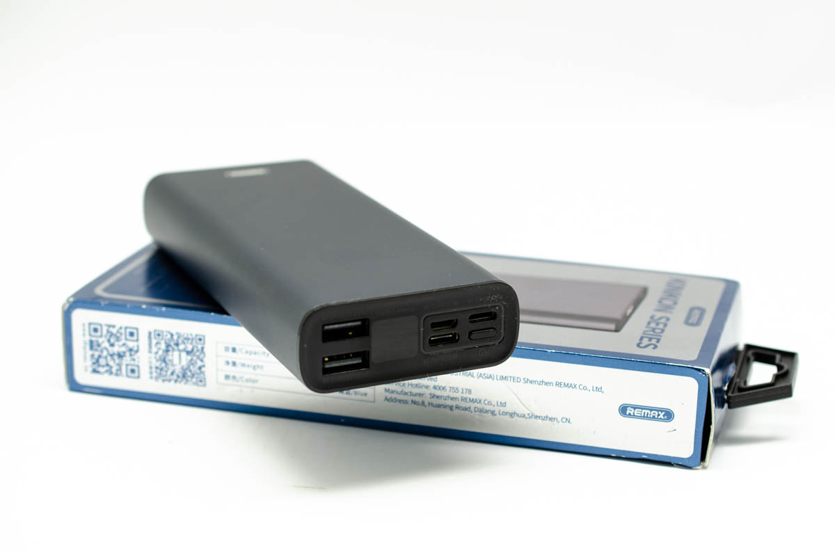 Power bank remax rpp-137 20000mah (crni)