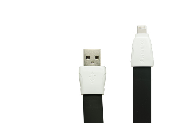 Usb data cable remax rc-011i full speed za iphone 5/6 (2a) crni 1m