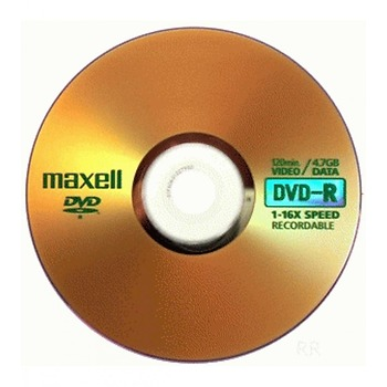 Maxell dvd-r 4.7gb 16x 100s carry pack